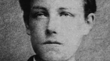 gros plan de la photographie d'Arthur Rimbaud signée Carjat