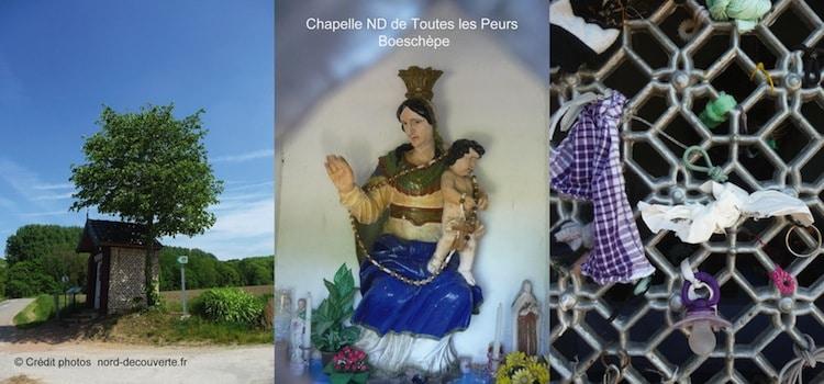 chapelle Notre Dame de Toutes les Peurs à Boeschepe