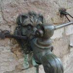 robinet de la citerne d'eau douce de Gravelines