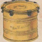 dessin d'une ancienne boîte de conserve