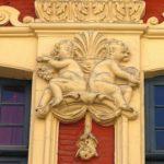 les anges séparateurs d'habitation sur les façades de Lille