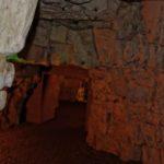vue d'une galerie souterraine appelée boves à Arras