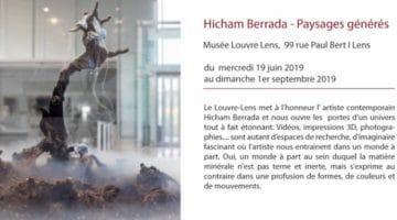 exposition Hicham Berrada au musée Louvre Lens