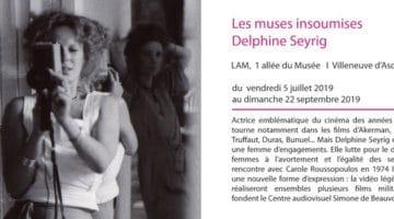 exposition Delphine Seyrig, l'insoumise au musée LAM