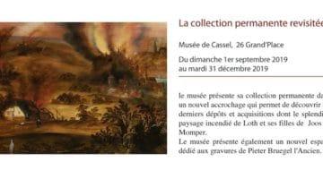 annonce de la collection revisite du musée de Cassel