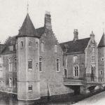 vue ancienne du château hanté de Stennebourg