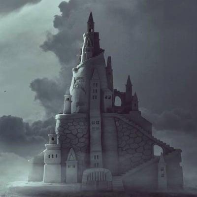 vue du château imaginaire de la Mer de Flines-lez-Râches
