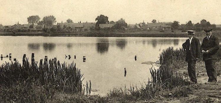 carte postale ancienne de la Mer de Flines-lez-Râches
