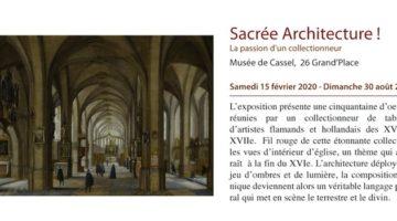 prolongation de l'exposition sacrée architecture de Cassel