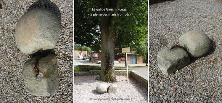 plusieurs vues du gal de Gauchin-Légal