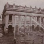 photo des pompiers lors de l'incendie du théâtre de Lille en 1903