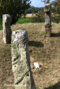 trois des cinq bonnettes de Sailly-en-Ostrevent encore visibles