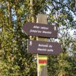 balisage du circuit de randonnée de la balade du menhir