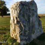 une des faces du gros caillou de Vendegies-sur-ecaillon