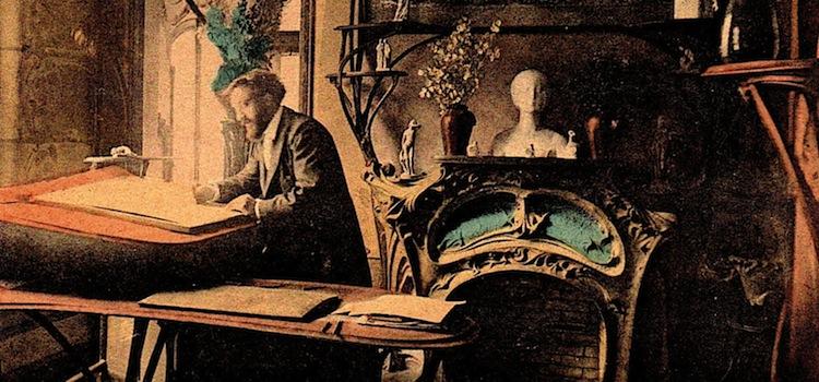 cabinet de travail d'Hector Guimard