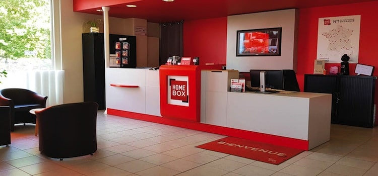 hall d'accueil de Homebox à Lille