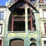 façade Art nouveau de la maison Coilliot à Lille