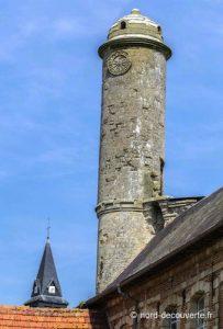 la tour échauguette appelée la chaire grise