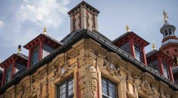 façade d'un monument parmi les lieux les plus beaux de Lille