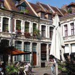 vue de la place aux Oignons prés de la Treille dans le Vieux-Lille