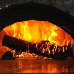 vue four à bois typique de la cuisson des Geutelingen belges