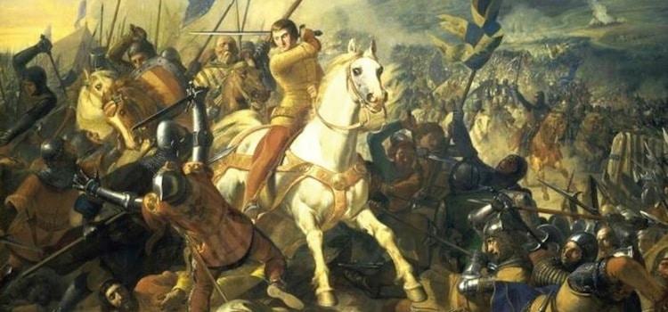 un tableau représentant Philippe le Bel encerclé