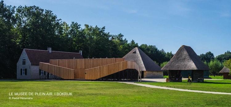 vue du musée du plein air de Bokrijk