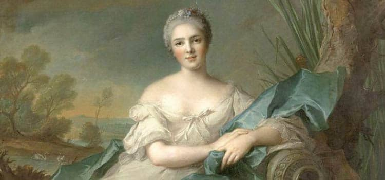 portrait de Nattier d'une des filles de Louis XV à l'origine du nom de Chemin des Dames