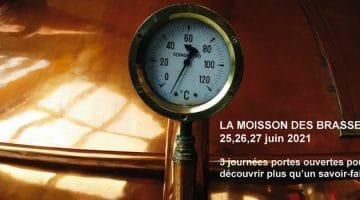 affiche de la moisson des Brasseurs en juin 2021
